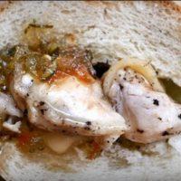 Панини с курицей и соусом SWEET PICKLE RELISH