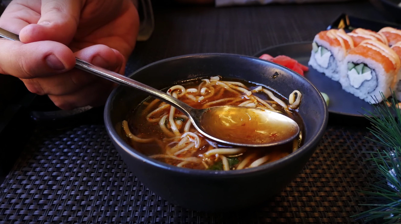 Азиатский суп в якитории