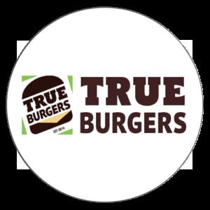 true burger логотип круглый