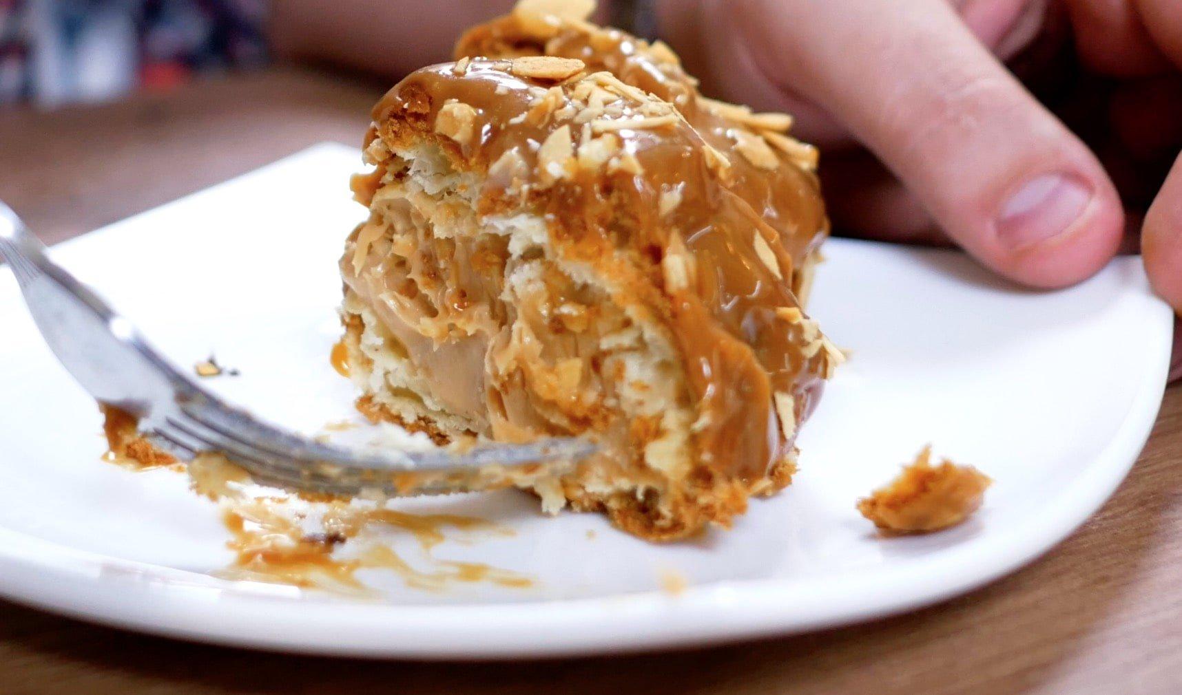 Cheese-сake.ru пирожное в разрезе шу
