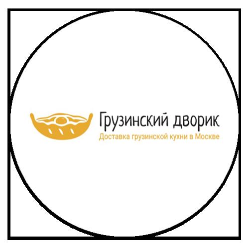 грузинский двор логотип