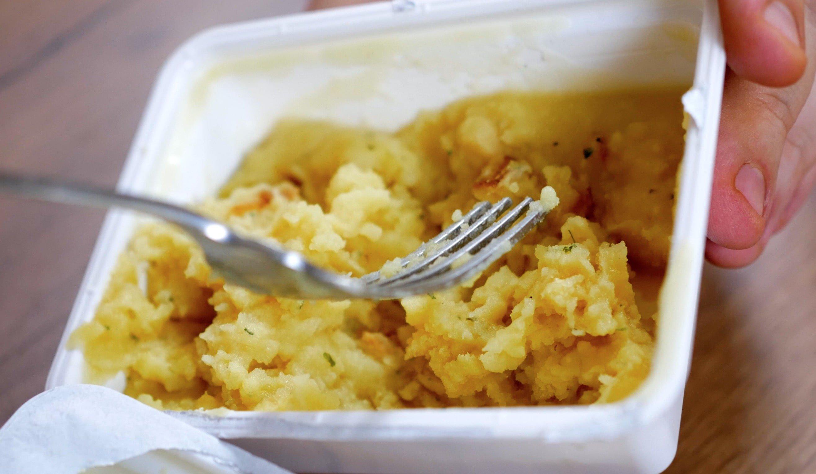Картофельное пюре со вкусом сыра