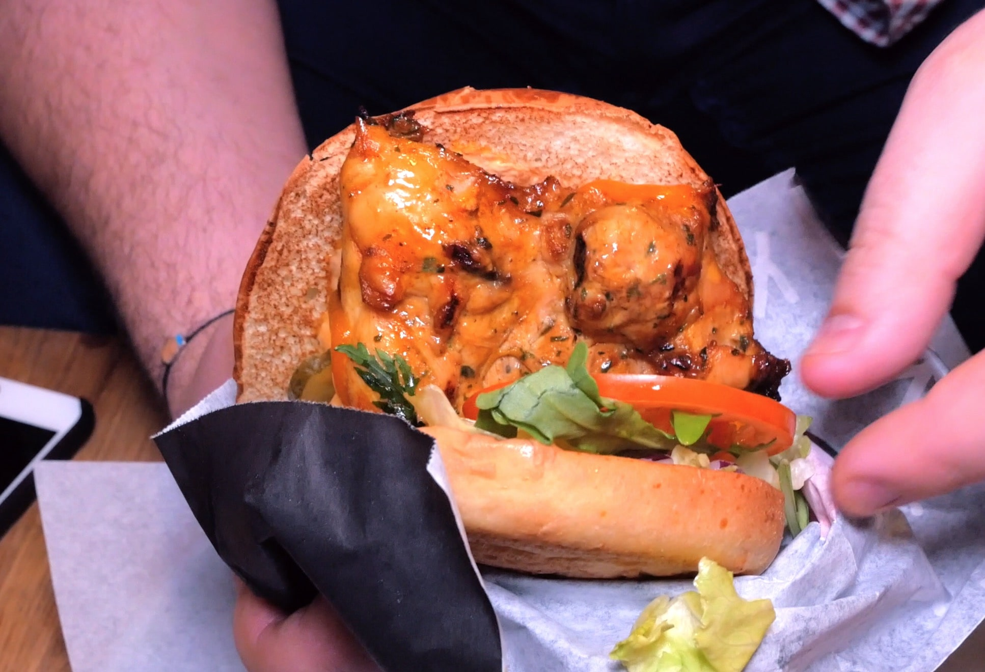"Бургер ""От создателя"" в sanders grill"