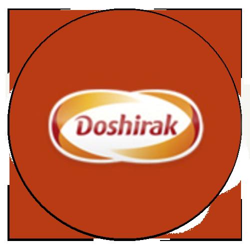 логотип компании доширак