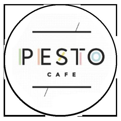 логтип ресторана pesto cafe