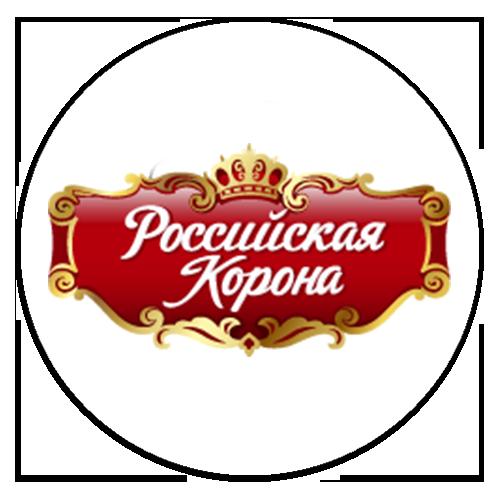 российская корона круглый лого