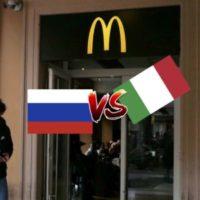 Макдональдс Италии VS России. Сыр Пармезан в десертах! Макароны вместо картошки?