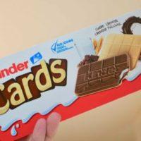 Карты от Kinder Cards. Таких в России нет?