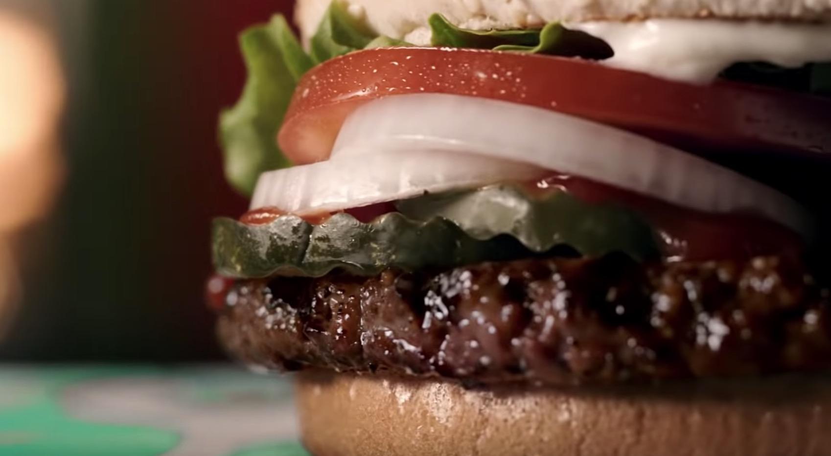 Веганские бургеры в Burger King