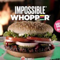 Burger King начал продавать вегетарианские бургеры в США в городе Сент-Луис. Данный проект оказался очень успешным. Руководство заведения Burger King исходя из этой статистики решили ввести вегетарианские бургеры в меню на постоянной основе.