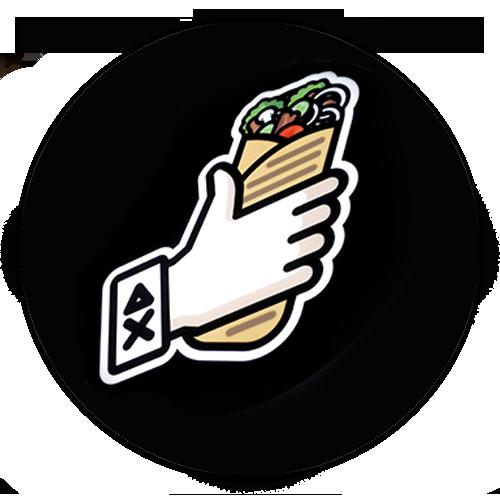 логотип заведения шаурму хачу