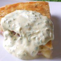 Пирог ветчина сыр