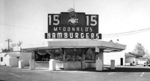 Первая франшиза McDonald's стоила всего 950 долларов