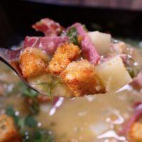 Королевский гороховый суп. Никакого замачивания!
