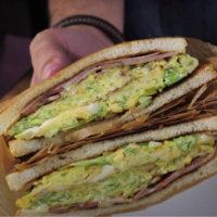 корейский сэндвич